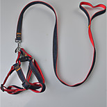 Harness Leash Safety Solid Terylene