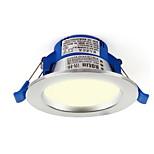1pc 3w led downlight celing light dimmable теплое белое / белое отверстие ac220v размера 85 мм 4000 / 6500k