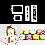 4 шт. / Комплект инструментов для выпечки для выпечки