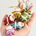 cheap -Christmas Tree Ornaments Christmas Tree Pendant Christmas Small Elderly Pendant Mixed 6-Colors