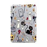 Назначение iPad (2017) Чехлы панели Прозрачный С узором Задняя крышка Кейс для Halloween Мягкий Термопластик для Apple iPad (2017) iPad
