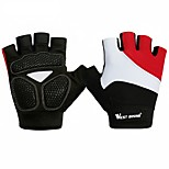 West biking Sports Gloves Bike Gloves / Cycling Gloves Quick Dry Breathable Lightweight Protective Sweat-Wicking Skidproof Fingerless