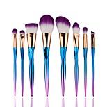 8 pcs Contour Brush Makeup Brush Set Blush Brush Eyeshadow Brush Lip Brush Brow Brush Concealer Brush Powder Brush Foundation Brush