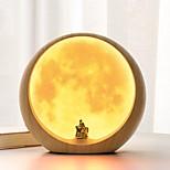 Современный Античный Простой Деревня Творчество Традиционный/классический Настольная лампа , Особенность для Перезаряжаемый Декоративная