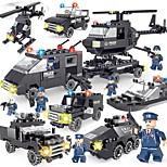 Набор для творчества Конструкторы Полицейская машинка Вертолет Игрушки Транспорт Простой Своими руками Классика Новый дизайн Взрослые