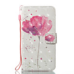 For iPhone X iPhone 8 Case Cover Wallet Card Holder with Stand Flip Pattern Magnetic Full Body Case Flower Hard PU Leather for Apple