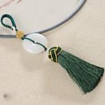Bag / Phone / Keychain Charms Tassel Crystal Polyester Cell Phone Charms