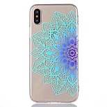 For iPhone X iPhone 8 Case Cover Ultra-thin Pattern Back Cover Case Mandala Soft TPU for Apple iPhone X iPhone 8 Plus iPhone 8 iPhone 7