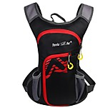 10-20 L Backpacks Cycling Backpack Cycling Hiking Bike Fast Dry Windproof Waterproof Zipper Wearable Lightweight Breathability Nylon