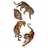 Tattoo Stickers Animal Series Pattern Lower Back Waterproof Women Men Teen Flash Tattoo Temporary Tattoos