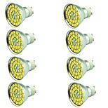 8 pcs 5W LED Spotlight 55 leds SMD 5730 Decorative Warm White Cold White 800lm 3000-7000K AC 12V