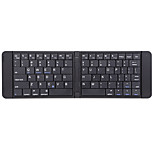Bluetooth teclado numérico Slim Dobrável Para Windows 2000/XP/Vista/7/Mac OS Android OS iOS iPad mini iPad mini 2 iPad mini 3 iPad Air