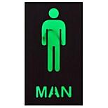 1pc american vintage led sign light для ресторана и туалета мужчин / женщин / приветствия без батареи