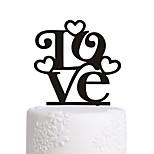 акриловый торт палку любовь свадебный торт украшения