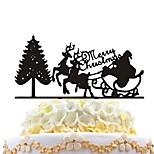 акриловый торт вставки рождественская елка рождественская елка рождественский торт украшение