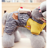 Собака Комбинезоны Одежда для собак На каждый день Носки детские Желтый Зеленый Розовый