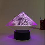 1set Color-Changing Decorative USB Lights LED Night Light Decoration Light-3W-Battery USB