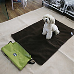 Cat Dog Bed Pet Mats & Pads Solid Keep Warm Wateproof Black
