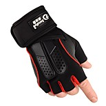 Sports Gloves Bike Gloves / Cycling Gloves Durable Skidproof Protective Sweat-Wicking Fingerless Gloves Cloth Nylon Cycling / Bike Unisex