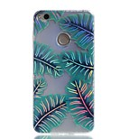 Case For Huawei P9 Lite P8 Lite (2017) Cover Plating IMD Pattern Back Cover Case Banana Leaf Hard TPU