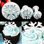 Формы для пирожных Повседневное использование Пластик Инструмент выпечки