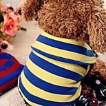 Собака Комбинезоны Одежда для собак На каждый день Английский Желтый Красный