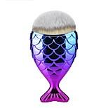 1шт Кисть для основы Синтетические волосы Милый стиль Легко для того чтобы снести Простота транспортировки Дерево Муж. Лицо Муж. и жен.