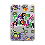 For iPad (2017) iPad 10.5 iPad Pro 12.9'' Case Cover Transparent Pattern Back Cover Case Halloween Soft TPU for Apple iPad pro 10.5 iPad