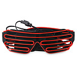 YouOKLight 3W DC3V 3Modes Sound Control Flash EL LED Glasses Party Lighting Colorful Glowing Classic Toys 1pcs