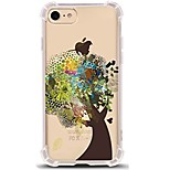 For iPhone X iPhone 8 Case Cover Ultra-thin Transparent Pattern Back Cover Case Tree Soft TPU for Apple iPhone X iPhone 8 Plus iPhone 8