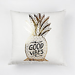 cheap -1 pcs Cotton Pillow Cover, Food Printing Fruit Patterned