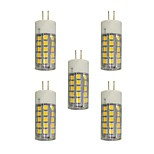 3.5 E14 LED Bi-pin Lights T 44 SMD 2835 280 lm Warm White White 3000-3500/6000-6500 K AC 220-240 V 5 pcs