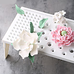 Plastic Fondant Cake Tools Fondant Flower Shaping Pad Frozen Sugar Drying Rack Cake Molds