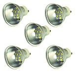 5 pcs 2W LED Spotlight 9 leds SMD 5730 Decorative Warm White Cold White 150lm 3000-7000K DC 12-24V