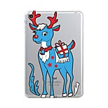 For iPad (2017) Case Cover Transparent Pattern Back Cover Case Transparent Christmas Animal Soft TPU for Apple iPad (2017) iPad Pro