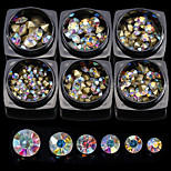 12 Nail Art Decoration Rhinestone Pearls Makeup Cosmetic Nail Art Design
