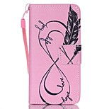 Case For Apple ipod touch 5 touch 6 Case Cover Card Holder Wallet with Stand Flip Pattern Full Body Case Pink Hard PU Leather