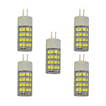 4W E14 LED Bi-pin Lights T 51 SMD 2835 320 lm Warm White White 3000-3500/6000-6500 K AC 220-240 V 5 pcs
