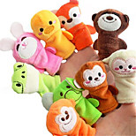 Stuffed Toys Finger Puppet Toys Cartoon Not Specified Pieces