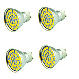 4 PCS 5W LED Spotlight 55 leds SMD 5730 Decorative Warm White Cold White 800lm 3000-7000K AC 12V