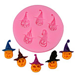 3D Pumpkin Head Silicone Fondant Mold Cake Decorating Tool Chocolate Mould