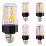 5PCS 9W LED Corn Lights T 112 leds SMD 5730 Warm White Cold White 850lm 2800-3500;5000-6500K AC85-265V