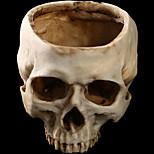1pc Хэллоуин цветок горшок смолы черепа дома побег ужасов реквизит украшения