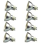 8 piezas 3W Focos LED 30 leds SMD 5050 Decorativa Blanco Cálido Blanco Fresco 280lm 3000-7000K AC 12V