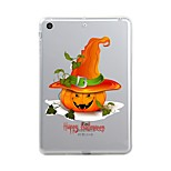 For iPad (2017) Case Cover Transparent Pattern Back Cover Case Transparent Halloween Soft TPU for Apple iPad (2017) iPad Pro 12.9'' iPad