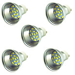 5 pcs 3W LED Spotlight 15 leds SMD 5730 Decorative Warm White Cold White 300lm 3000-7000K DC 12-24V