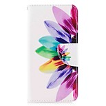 Case For V30 Q6 Card Holder Wallet with Stand Flip Magnetic Pattern Full Body Flower Hard PU Leather for LG Q6 LG V30