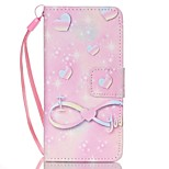 Case For Apple Ipod Touch5 / 6 Case Cover Card Holder Wallet with Stand Flip Pattern Full Body Case  Water Droplets Hard PU Leather