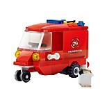 Building Blocks Fire Engine Vehicle Toys Truck Kids 1 Pieces