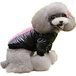 Собака Толстовки Одежда для собак На каждый день Буквы и цифры Желтый Пурпурный